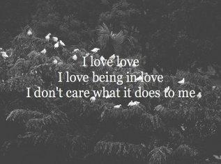 I love love