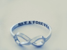 now & forever ring