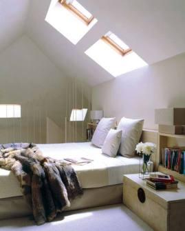bedroom skylight inspo