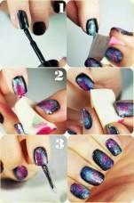 inspo galaxy nails