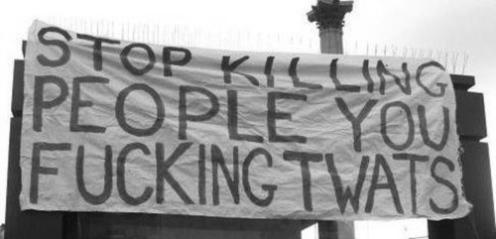 stop killing people