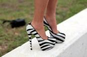 zebra heels WANT