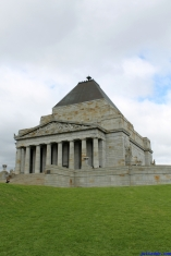 Botanic Gardens Melbourne Australia August 2012-8 shrine of rememberance