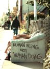 human being not human doing