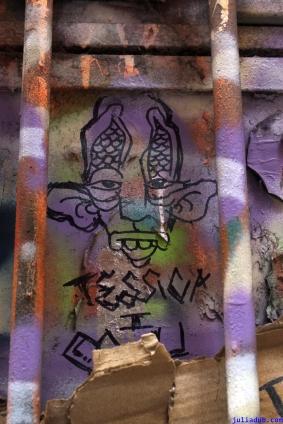 Street Art Melbourne Australia August 2012-102