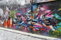 Street Art Melbourne Australia August 2012-129