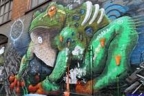Street Art Melbourne Australia August 2012-183