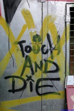 Street Art Melbourne Australia August 2012-186