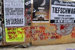 Street Art Melbourne Australia August 2012 - 199