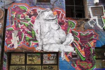 Street Art Melbourne Australia August 2012 - 236