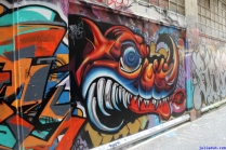 Street Art Melbourne Australia August 2012 - 245