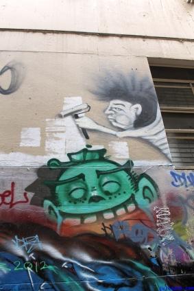 Street Art Melbourne Australia August 2012 - 247