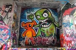 Street Art Melbourne Australia August 2012 - 256