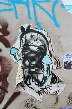 Street Art Melbourne Australia August 2012 - 272