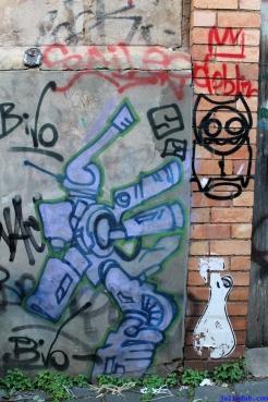 Street Art Melbourne Australia August 2012 - 286