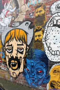 Street Art Melbourne Australia August 2012 - 310