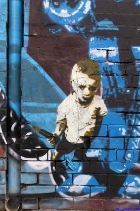Street Art Melbourne Australia August 2012 - 318