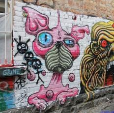 Street Art Melbourne Australia August 2012 - 333