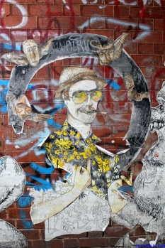 Street Art Melbourne Australia August 2012 - 349