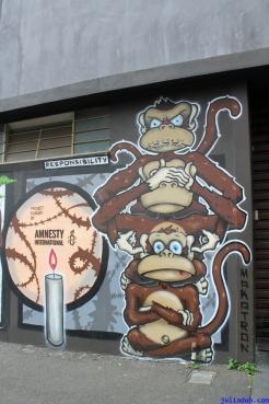 Street Art Melbourne Australia August 2012 - 361