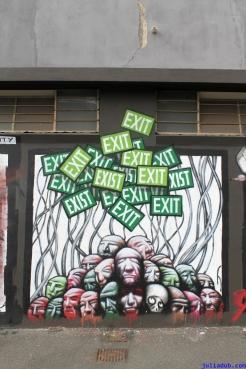 Street Art Melbourne Australia August 2012 - 362