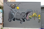Street Art Melbourne Australia August 2012 - 373
