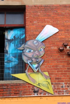 Street Art Melbourne Australia August 2012 - 417