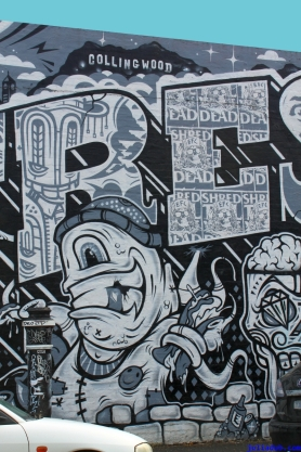 Street Art Melbourne Australia August 2012 - 435