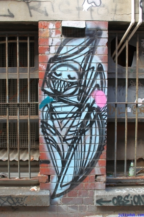 Street Art Melbourne Australia August 2012 - 460