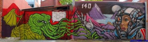Street Art Melbourne Australia August 2012 - 469