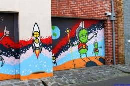 Street Art Melbourne Australia August 2012 - 482