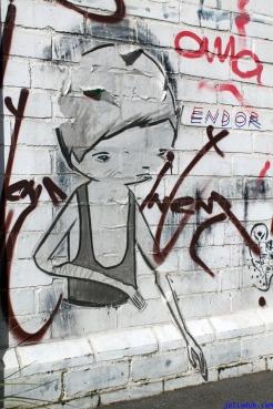 Street Art Melbourne Australia August 2012 - 485