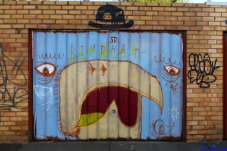 Street Art Melbourne Australia August 2012 - 503