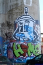 Street Art Melbourne Australia August 2012 - 527