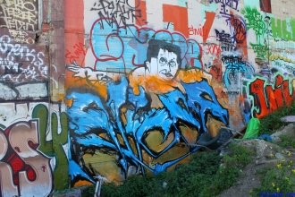 Street Art Melbourne Australia August 2012 - 531