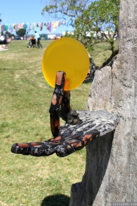 NZ Sculpture OnShore Nov 2012 (104) 'Pilgrims or God loves Fun' - Stefan Gerstmann
