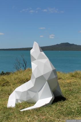 NZ Sculpture OnShore Nov 2012 (116) 'Kekeno' Ben Foster