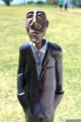 NZ Sculpture OnShore Nov 2012 (17) Graeme Hitchcock 'Man Looking'