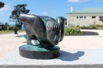 NZ Sculpture OnShore Nov 2012 (20) 'Jazz Man', Llew Summers