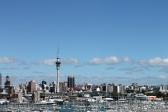 Auckland City Skyline from Harbour Bridge