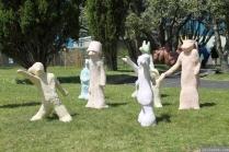 NZ Sculpture OnShore Nov 2012 (33) 'Children of the Revolution', Lucy Bucknall