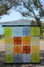 NZ Sculpture OnShore Nov 2012 (60) Ainsley O'Connell 'Patchwork 2012'
