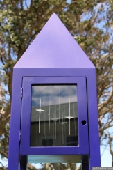 NZ Sculpture OnShore Nov 2012 (73) 'Bird Calls (Kokako)' Diane Atkinson & Carolyn Williams