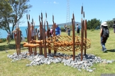 NZ Sculpture OnShore Nov 2012 (92) Guy Bowden 'Hinaki Waharua'