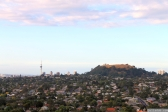 Sky Tower and Mt Eden
