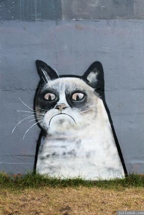 Grumpy Cat Graffiti
