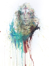 CARNE GRIFFITHS lotus-flower